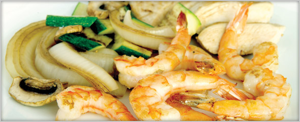 Hibachi Shrimp and Chicken for Two only $36